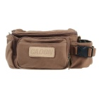 Caden F0 Waterproof Vintage Casual Canvas Camera Shoulder Bag for DSLR Canon and More - Coffee