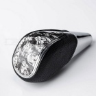 Car Skeleton Lines Leather Cool Ultra Shift Knob - Black