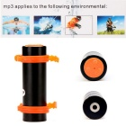 4GB Swimming Diving Waterproof MP3 Player w/ FM Radio, Earphone