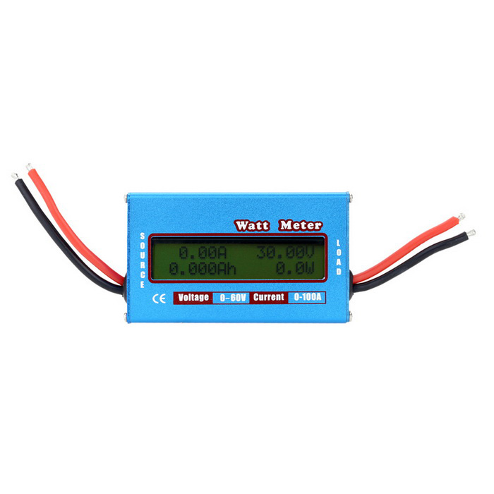 TS-68691 0-100A 0-60V Power Battery Tester Watt Meter Dynamometer