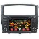 "LsqSTAR 7"" Android 4.4 Car DVD Player w/ GPS Wi-Fi SWC Canbus BT AUX For Mitsubishi Pajero V93 V97"