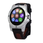 N10 MTK2501 IP67 Bluetooth 4.0 Smart Watch w/ Compass Barometer for Outdoor Sports - Silver