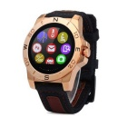 N10 MTK2501 IP67 Bluetooth 4.0 Smart Watch w / Kompass Barometer für Outdoor Sports - Goldene