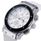 MEGIR Men's Multi-Function Waterproof Fashion Wrist Watch - White