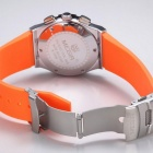 MEGIR Men's Multi-Function Wrist Quartz Watch - Orange + White