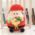 SC32C New Style High Quality Plush Santa Claus Christmas Toy - White + Red