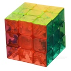 3 x 3 x 3 Translucent Magic IQ Cube - Multicolored