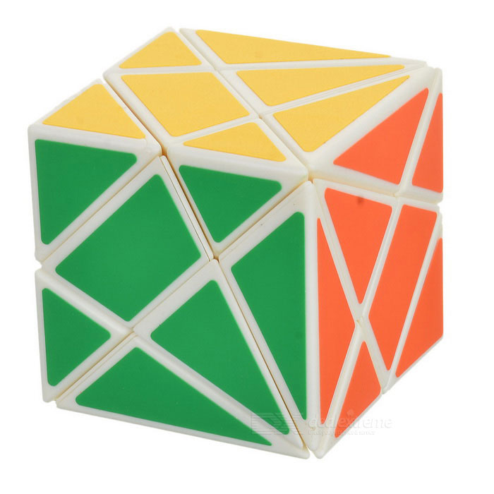 3 * 3 * 3 cubo IQ mágico irregular - blanco + multicolor