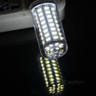 E27 10W 600lm 72-SMD 5730 LED Cold White Light Corn Lamp (AC 220~240V)