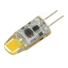 G4 0705 1W 110lm 6000K Cold White Light LED Light - Yellow (AC/DC 12V)