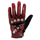 PRO-BIKER MCS23 Bike Cycling Breathable Full-Finger Gloves - Red (XL)