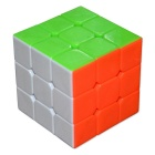 3 x 3 x 3 Mini Papaya Colored Cube Puzzle Toy
