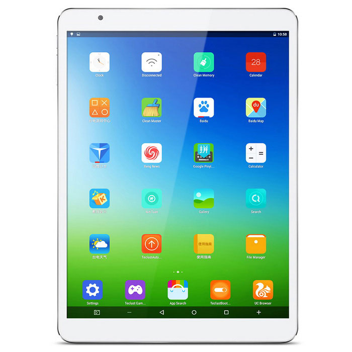 "teclast X98 air iii 9.7"" Tablet PC w / 2GB RAM, 64 GB ROM - bílá + šedá"