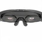 "3D Virtual Reality Wide Screen Digital Video Glasses w/ 2"" LCD - Black"