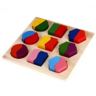 Wooden Puzzle Jigsaw Shape for Preschool Kids Childhood Education