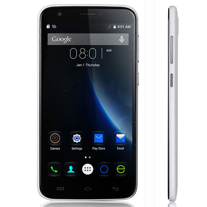 DOOGEE VALENCIA2 Y100 Plus 4G Phone - White
