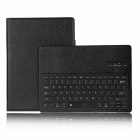 Mini Smile Bluetooth V3.0 Detachable Protective PU + ABS Keyboard Case for IPAD Pro - Black