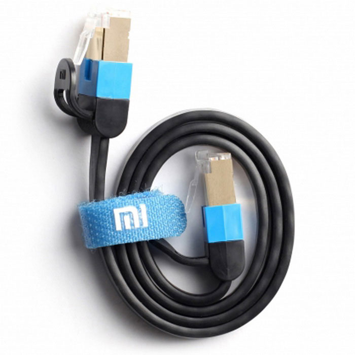 Xiaomi RJ45 macho a macho cable de red ethernet - negro (0.5m)