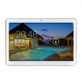"""KT096H Android 4.4 3G Tablet Phone w/ 9.6"""", 1GB RAM, 16G ROM - White"""