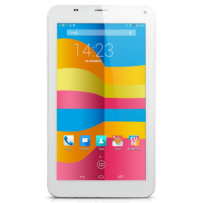 "cubo U51GT-C8 Android 4.4 tablet PC w / 7"", 1GB di RAM, 8GB di ROM - bianco"