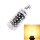 YouOKLight E14 7W LED Corn Lamp Bulb Warm White Light 3000K 600lm 56-SMD 4014 (AC 220~240V)