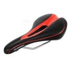 QUARRY KR11051 Hollow Water-Resistant PU Leather Bike Bicycle Saddle Seat Cushion - Black + Red