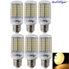 YouOKLight E27 6W LED Corn Bulb Lamp Warm White 3000K 96-SMD (6PCS)