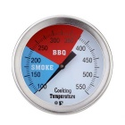 100~550'F Stainless Steel Oven Thermometer BBQ Grill Cooking Temperature Guage