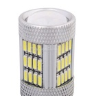 MZ T20 W21 / 5W 7443 10W Car LED Luz de freno / conducción Blanco 54-SMD