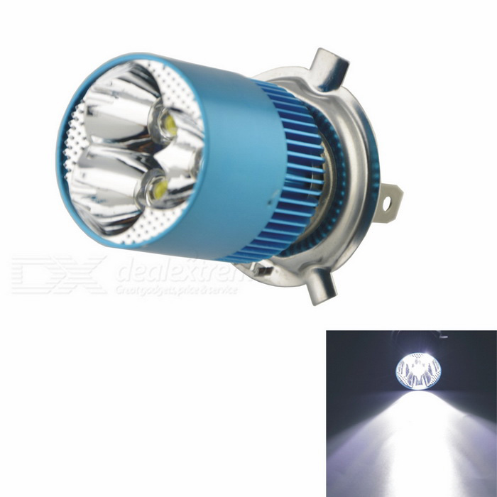 8W 800lm 6000K White LED Built-in Spotlight for Motorcycle Headlamp