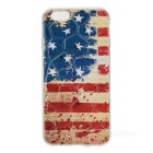 USA National Flat Pattern Protective TPU Case for IPHONE 6 / 6S - Red + Blue