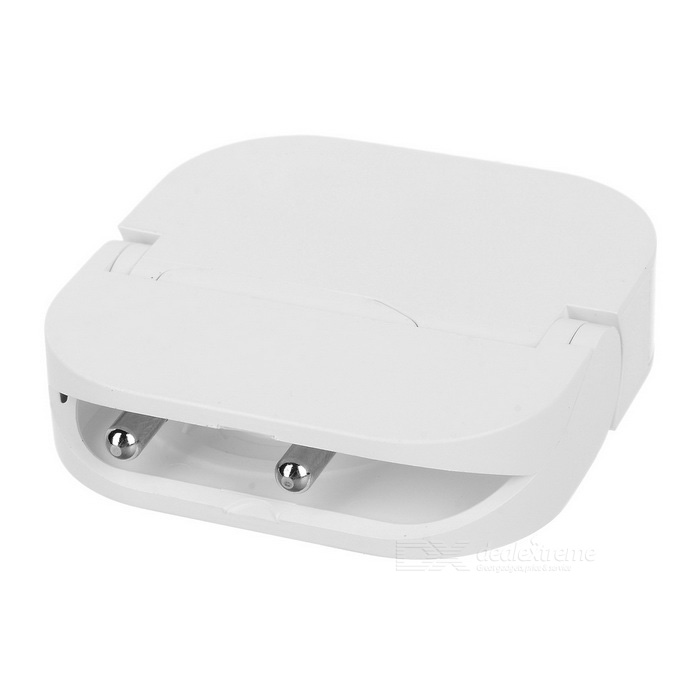Cwxuan Universal Foldable USB 5V 1A Quick Charger - White (EU Plug)AC Chargers<br>Form ColorWhiteModelN/AMaterialInflaming retarding ABSQuantity1 DX.PCM.Model.AttributeModel.UnitCompatible ModelsUniversalInput Voltage100~240 DX.PCM.Model.AttributeModel.UnitOutput Current1 DX.PCM.Model.AttributeModel.UnitOutput Power5 DX.PCM.Model.AttributeModel.UnitOutput Voltage5 DX.PCM.Model.AttributeModel.UnitPower AdapterEU PlugOther Features1 x USB interfacePacking List1 x Charger<br>