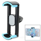 Universal-360 'Rotating Auto-Klimaanlage Outlet Berg Phone Holder Stand - Schwarz + Light Blue
