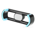 "360"" Rotating Car Air Outlet Mount Phone Holder - Black + Light Blue"