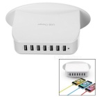 Universal 5V 9.5A 7-Port USB Power Adapter Charger for IPHONE / Samsung + More (EU Plug / 100~240V)