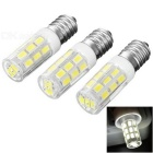 JRLED E14 5W Highlight Bulb Weiß 6450K 400lm 27-5730 SMD (3PCS / 220V AC)