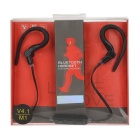 M1 Universal Bluetooth V4.0 Ear-hook Earphone w/ Mic. - Black