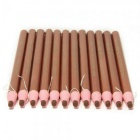 Waterproof Peelable Eyebrow Pencils - Light Brown (12PCS)