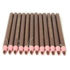 Waterproof Peelable Eyebrow Pencils - Coffee (12PCS)