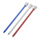 Outdoor Camping Y-type Aluminum Alloy Tent Peg - Multicolored (3PCS)