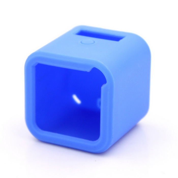 C Model Silicone Case for GoPro Hero4 SessionBags &amp; Cases<br>Form ColorBlueQuantity1 PieceMaterialSiliconeShade Of ColorBlueCompatible ModelsOthers,Gopro 4 SessionSizeMDimension4.2 x 4.2 x 4 cmInner Dimension3.3 x 3.6 x 3.6cmPacking List1 x Silicone Case<br>