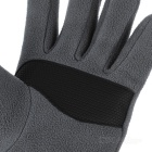 NatureHike Wind-proof Warm Full-Finger Fleece Gloves - Grey (Pair/L)