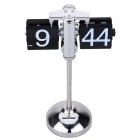 Small Scale Desktop Clock Hand-made Scalable Retro Gear Operated Flip Down Clock Home Decor