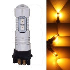 MZ PW24W 5W LED Car Steering Light Yellow 10-SMD for Audi BMW VW