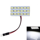 T10 BA9S Festoon 3.6W 360lm 8000K 18-SMD 5730 LED Cool White Light Car Reading Lamp/Indoor Lamp(12V)