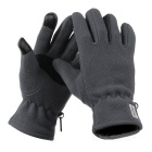NatureHike Anti-Slip Anti-pilling Wind-proof Warm Cycling Full-Finger Fleece Gloves - Grey (Pair/M)