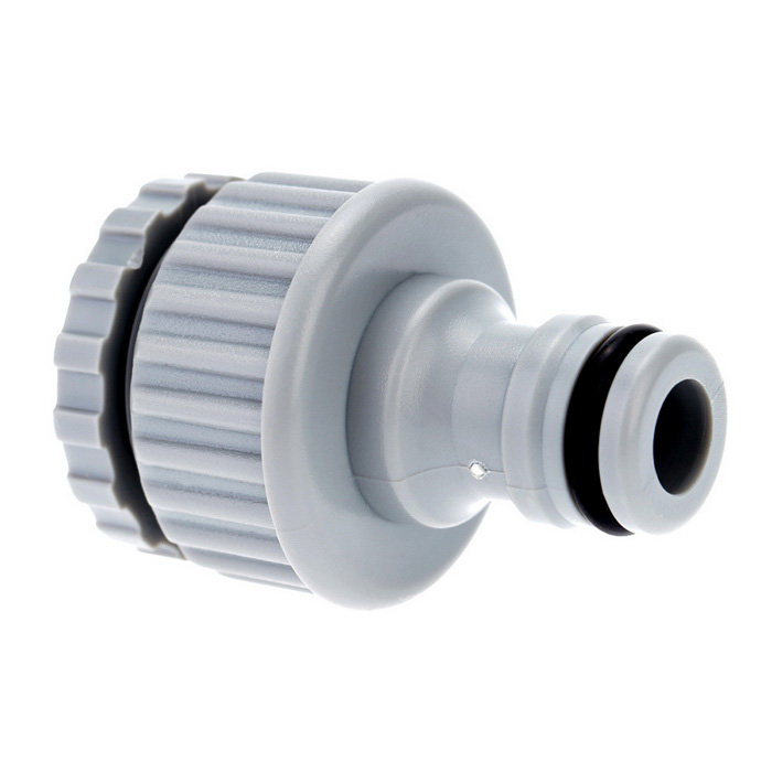 13mm 19mm Water Hose Pipe Faucet Adapter Connector Fitting Grey Free Shipping Dealextreme