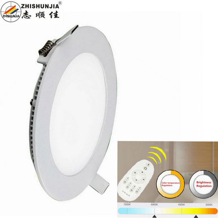 24W Dimmable LED Bulb Branco Quente + Branco 1800lm 48-SMD 5630 w / Remote