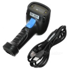 USB 2.0 1D/2D QR Code Barcode Reader Scanner - Black + Blue