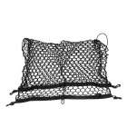 100 x 70cm Car Trunk Interior Mesh Net Storage Bag Luggage Holder w/ 4 Hooks
